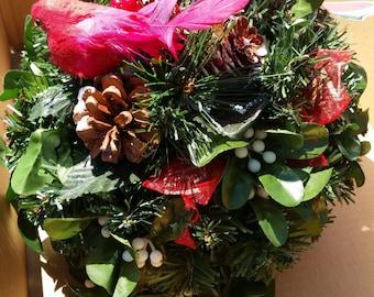 Christmas DecorHanging Mistletoe Ball