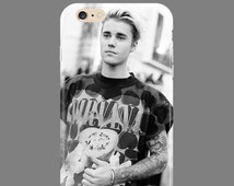 Case for Iphone or Samsung Justin Bieber Iphone  4 4S 5 5S 6 6S 6 7 Plus SE Galaxy S4 S5 S6 S7 Edge Note 3 4 5 7 Cover Skin