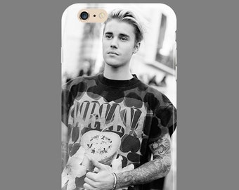 Case for Iphone or Samsung Justin Bieber Iphone  4 4S 5 5S 6 6S 6 7 Plus SE Galaxy S4 S5 S6 S7 Edge Note 3 4 5 7 S8 J3 Active LG HTC Moto