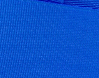 Electric Blue Grosgrain Ribbon     (05-##-S-212)