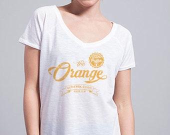"""""""ORANGE"""" Retro t-shirt"""