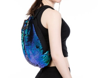 Color-changing Sequin Backpack