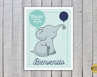 elefant invitation