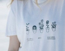 Plants are Friends Tee(brandy melville inspired)