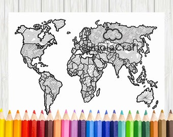 Canada map coloring zentangle canada north america coloring world map coloring page printable world map coloring world map map for coloring gumiabroncs Images
