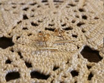Staple Earrings (bar earrings)