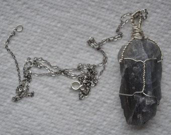 Wrapped Gray Labradorite