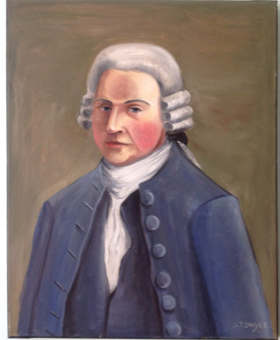 Young John Adams Portrait of Young John...