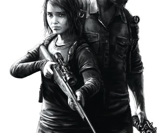 The Last of Us Video Game Poster
