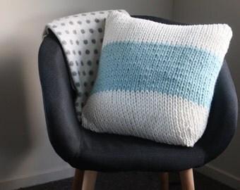 Chunky Handknitted Cushion