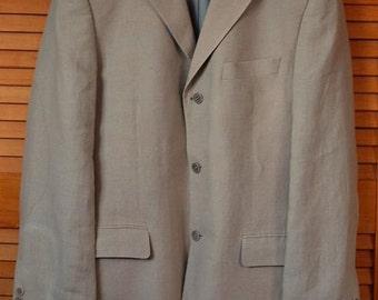 Balmain Linen  Men's Jacket