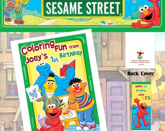 Sesame Street Coloring Book with Crayons