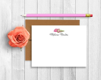 Personalized Stationery, Personalized Stationary, Personalized Note Cards, Thank You Note Cards, Stationery Set, Preppy Stationery