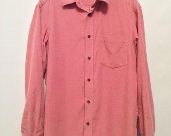 Pink Courduroy Shirt