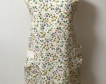 Rabbit motif apron [hand]