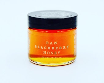 Raw Blackberry Honey 3oz