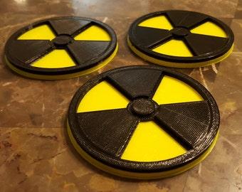Nuclear Coaster - Set of 3
