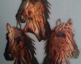 Three Horses - Wall Art