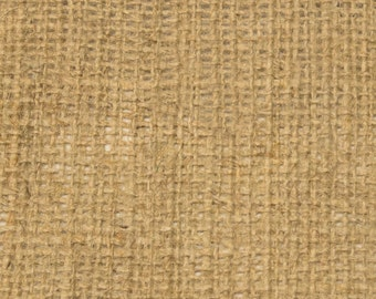 "10oz Natural Burlap by the Yard - 60"" Wide, 100% Jute"