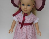 """18"""" Journey Girl Doll Dress, Hat, and Shoes"""