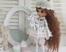 Full Custom Pullip Puppe ***Emma*** Ooak, Künstlerpuppe, handgemacht, groove doll, tanned skin, brown wavy hair