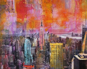 New York City Original Painting