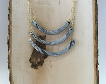 Marble Waterfall Necklace