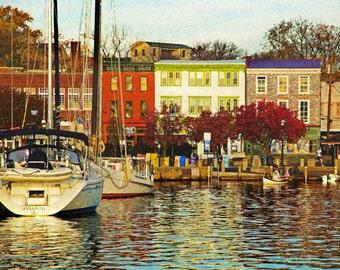 Historic City Dock, Annapolis Md.