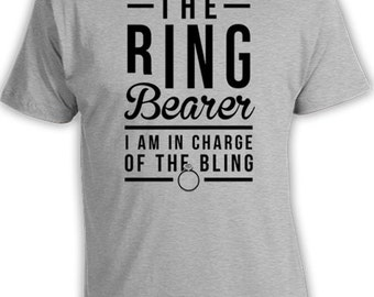 Ring Bearer Outfits Wedding Party Shirts Kids Clothes Boys T Shirt Ring Bearer Gift For Boys The Ring Bearer Shirt Kids Tee Bodysuit FAT-362