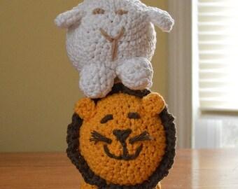 100% cotton crocheted animals