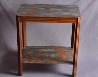 Console Deco / old table