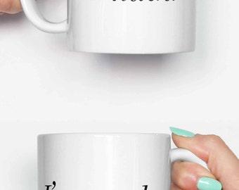 I'm prada u nada - funny mug, coffee mug, office mug, gifts for him, cute mug, birthday mug, gifts for her 4C069