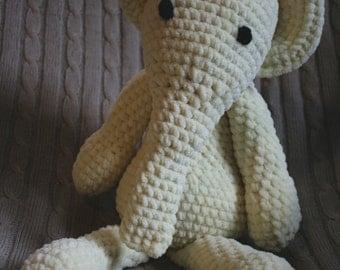 Amigurumi Elephant Plushie