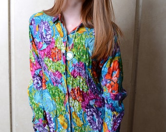 Multicolored Beaded Blouse