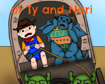 The Adventures of Ty and Nari Issue #2