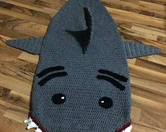 Crochet Shark Sleep Sack Pattern