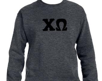 custom stitched greek letters
