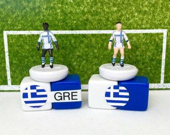 Greece Soccer Figurine / Miniature (Subbuteo) Magnet