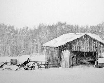 Winter landscape Deep Snow II