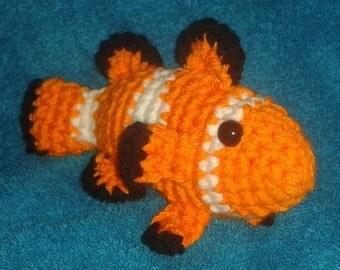 Amigurumi Nemo (Clownfish)