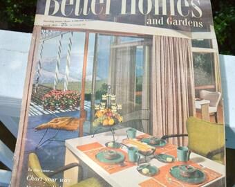 Vintage Better Homes and Gardens Magazine April 1953