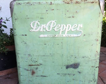 Mint Green Dr. Pepper Cooler