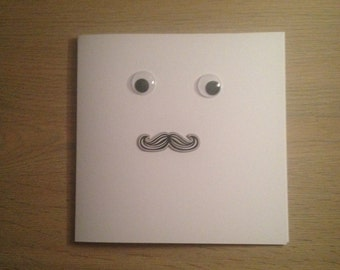 Handmade Tash Face Card