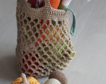 Crochet shopping bag for children