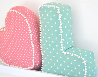 Small Letter Cushion