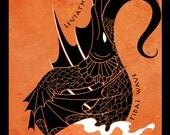Leviathon -  Final Fantasy inspired illustration