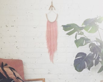 Arc Wallhanging - Peach and Stone