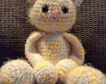 Creampuff the  Teddybear plush stuffed animal