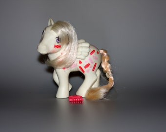 My Little Pony G1 Twice as Fancy RARE Yum Yum With Comb Vintage 1984