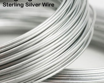 18 gauge Sterling Silver Wire (DS, by the foot)